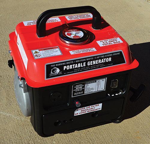Storm Cat 800-watt generator