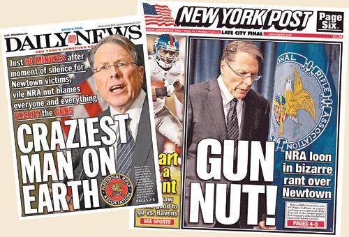 two anti-gun rughts newspapers