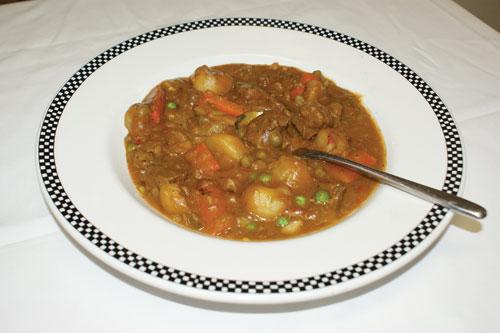Grandma's old-fashioned bear stew