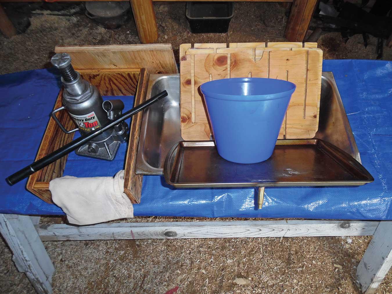 odds and ends of the cider grinder