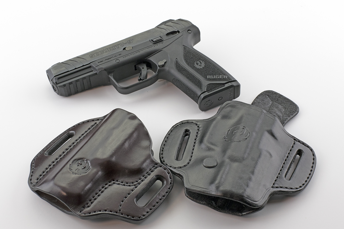 Ruger Security 9 with Holsters