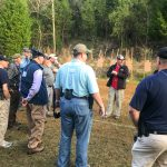 David Maglio teaching a pistol class