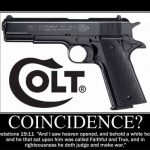 Colt 1911 bible meme