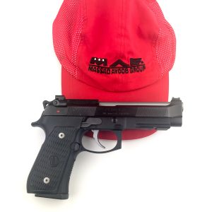 MAG hat with Beretta Pistol