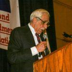 Joe Tartaro at the podium