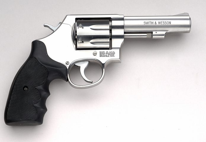 Photo of a Smith & Wesson Moderl 64 Revolver