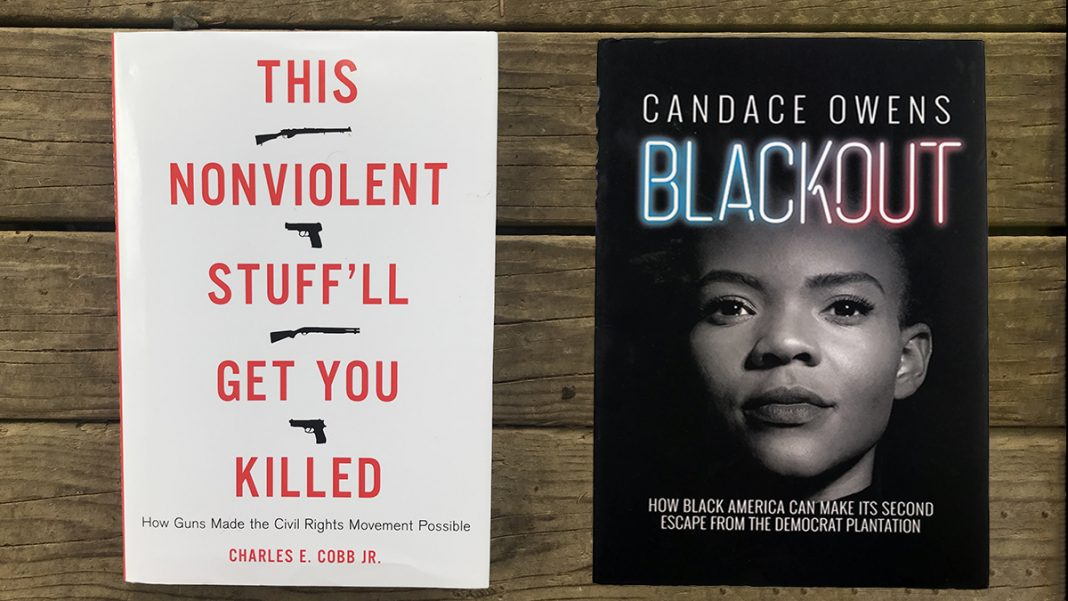 This non-violent stuff will get you killed book and Blackout book
