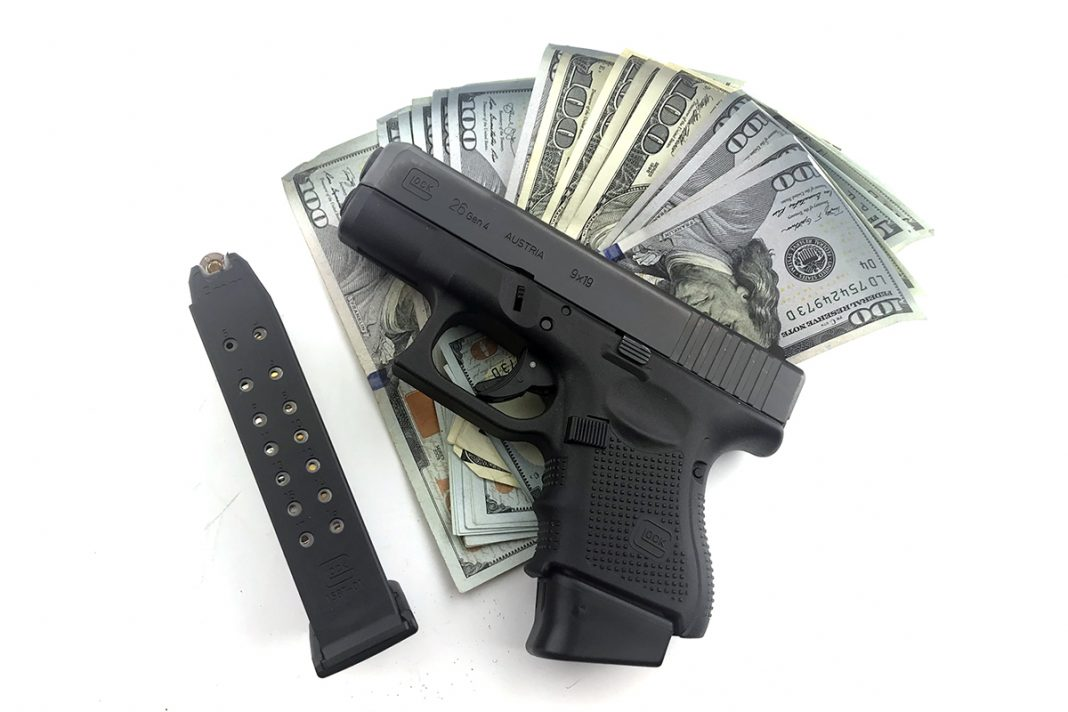 Glock with Cash