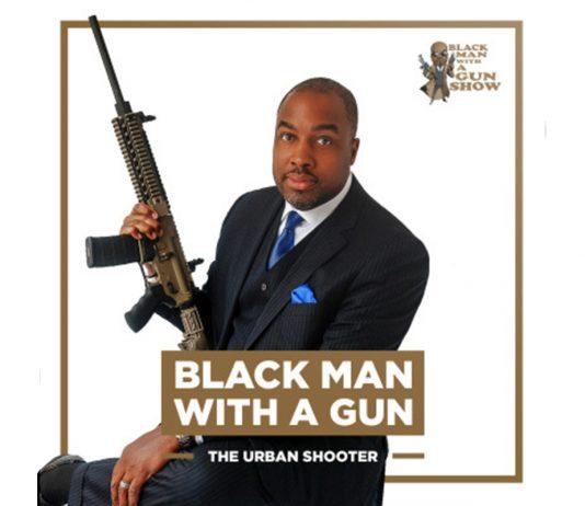 Kenn Blanchard with rifle