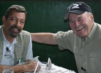 Massad Ayoob and Bill Allard