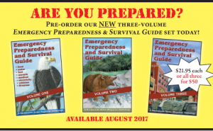 NEW! Emergency Preparedness and Survival Guide set